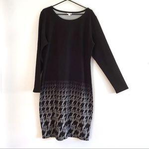 LuLaRoe Debbie Long Sleeve Sheath Dress 3X